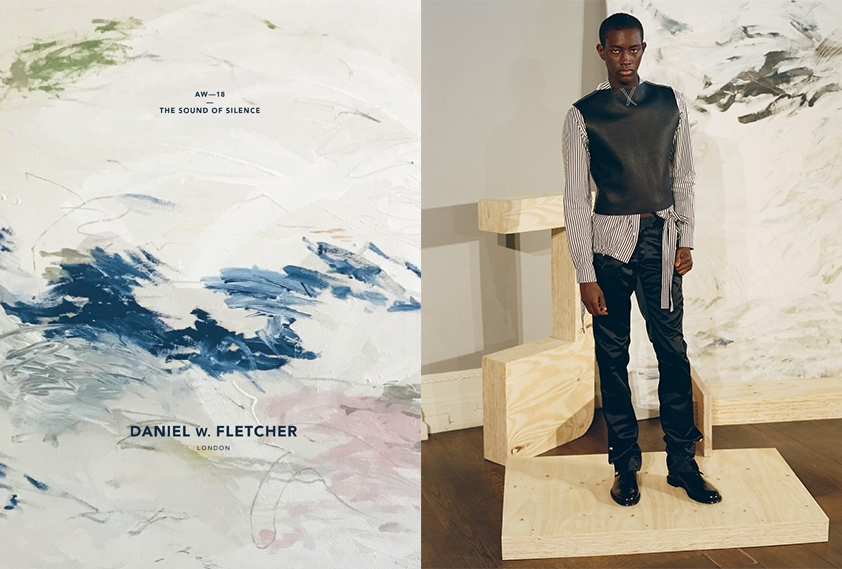 Daniel w. Fletcher, Campaign, aw18, mens fashion,