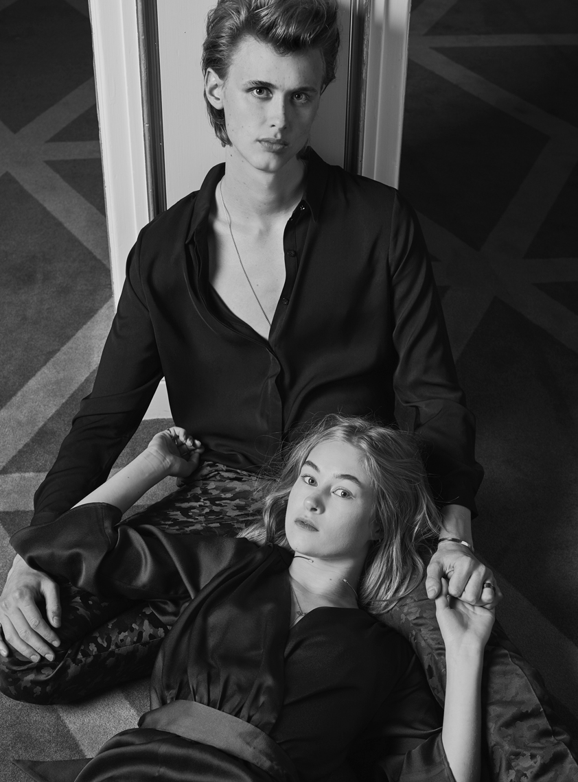 Lea Meyer & Henrik Holm British Vogue