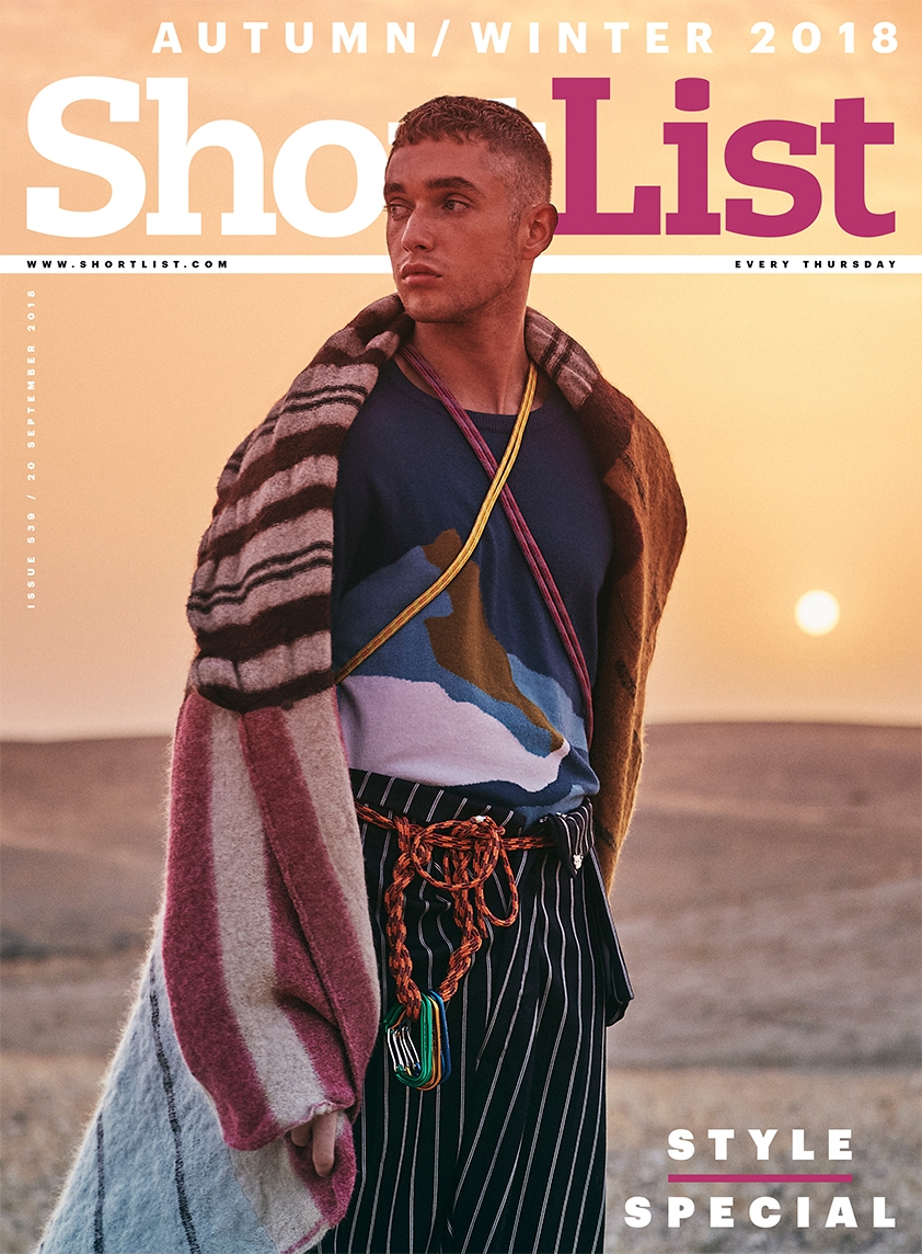 Shortlist Magazine Style Special Cover, Fashion Photography, Fashion Photographer, Fashion Film, Nick Thompson Photography, Shortlist Magazine, Sonny Walker