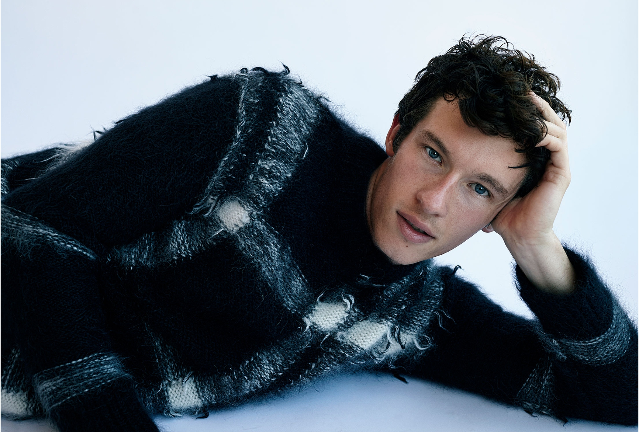 Callum Turner Burberry 1