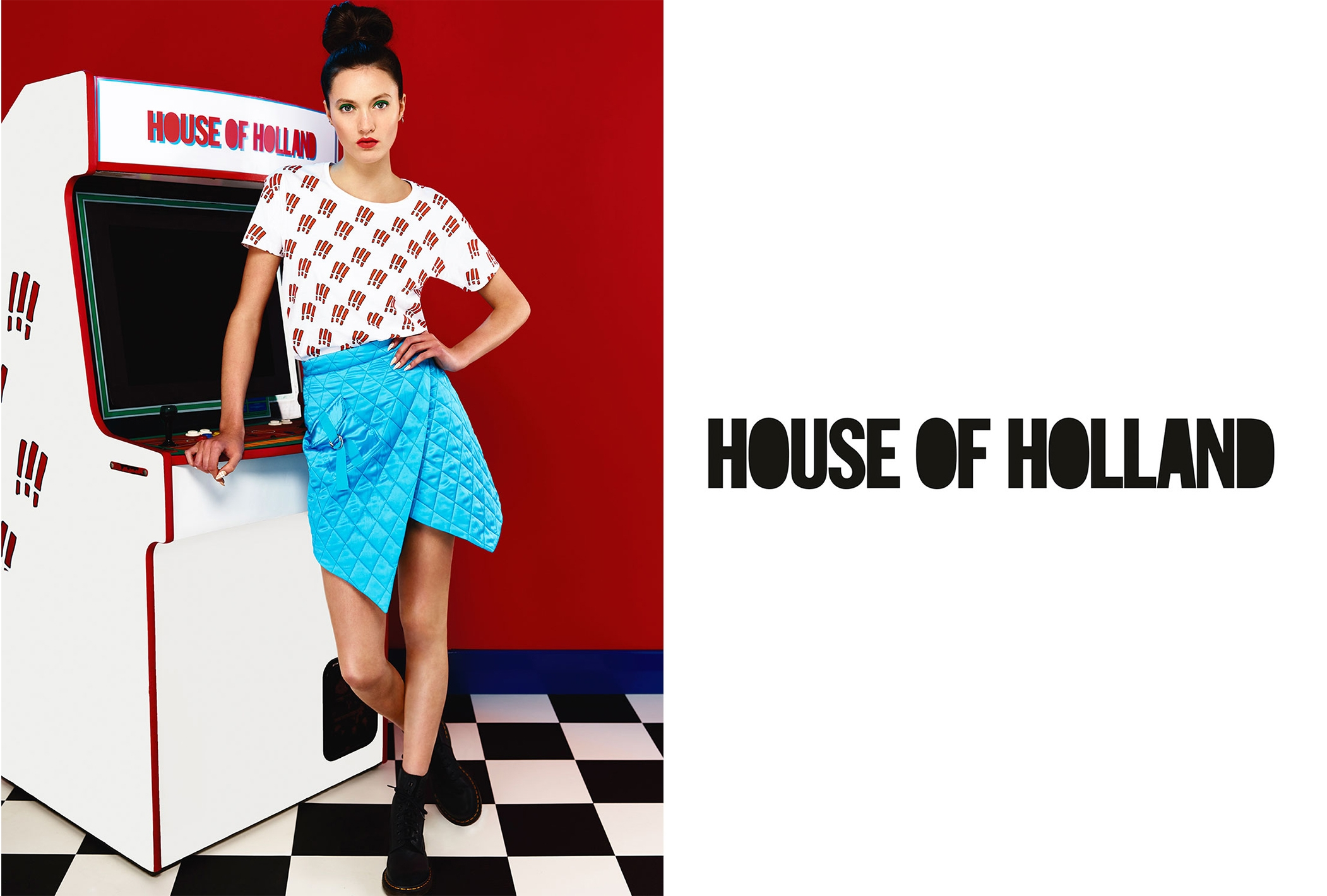 House Of Holland Campaign Matilda Lowther Nick Thompson