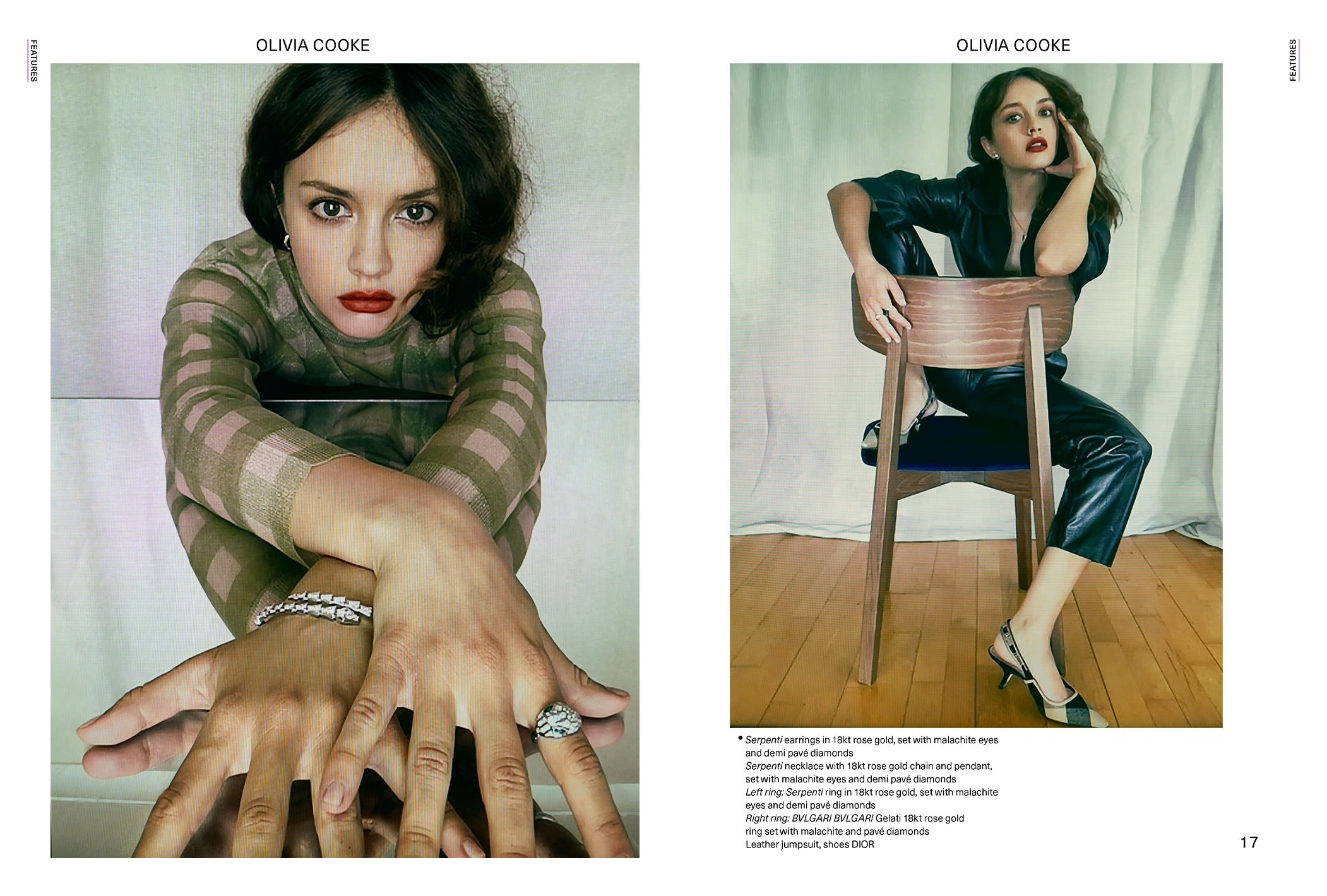 Olivia Cooke Glass Magazine