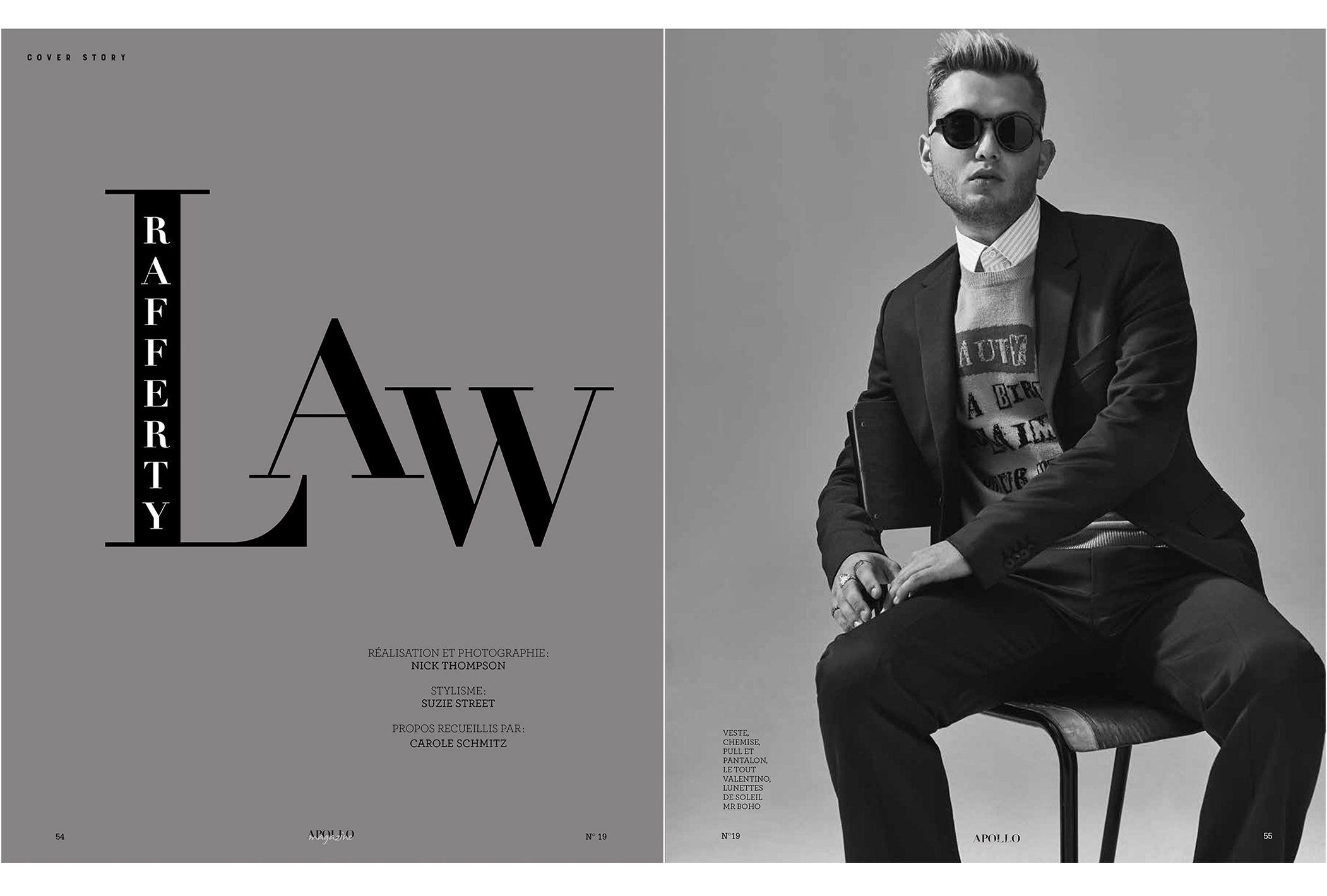Rafferty Law, Apollo Magazine Nick Thompson